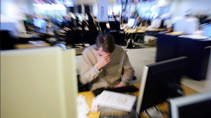 Stressigt i aktivitetsbaserat kontor