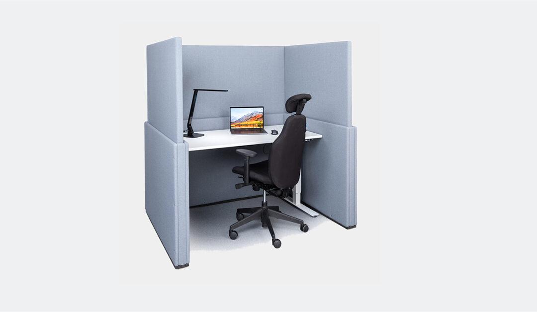 Världspremiär på Stockholm Furniture Fair – Mount Design introducerar en helt nytänkande funktionell möbel för öppna kontorslandskap