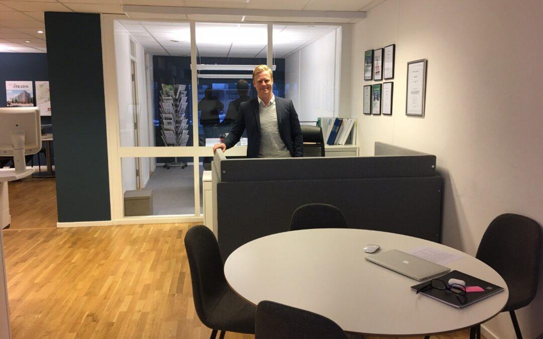 HusmanHagberg i Täby effektiviserar kontoret med Hilo Flexwall